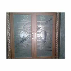 Stylish Glass Door