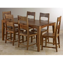 6 Chairs Wooden Dining Table Set, Warranty: 5 Year