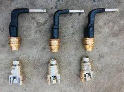 Msckolkata Three 11 Kv OCB Brass Fixed Moving Contacts