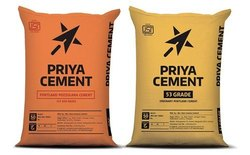PPC (Pozzolana Portland Cement) Priya Cement, Packaging Size: 50 Kgs, Cement Grade: General High Grade