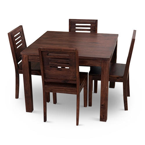 Magnificent 4 Chair Wooden Dining Table Set Forskolin Free Trial Chair Design Images Forskolin Free Trialorg