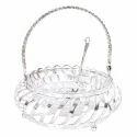 Silver Coated Basket