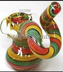 Colour Full Rasta Elephant Smoking Pipe