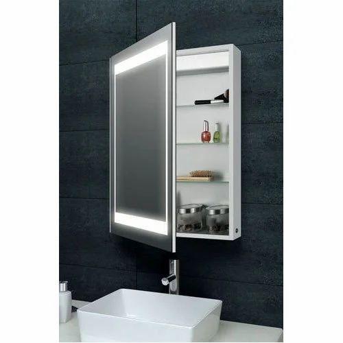 Aluminum Bathroom Mirror Cabinet Shape, Bathroom Mirror Cabinet