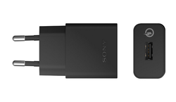 Black Sony Mobile Charger
