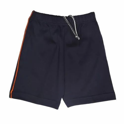 Polyester Plain School Sports Shorts