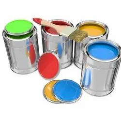 Green, also available in red, Blue High Gloss Enamel High Temperature Paints, Packaging Type: Tin