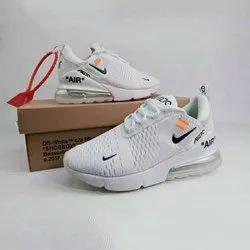 Mens Nike White Sports Shoes, Size: 6