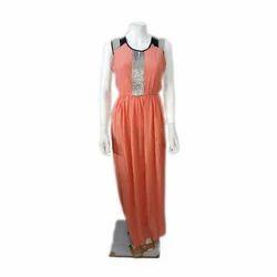 Cotton Ladies Gown, Size: Medium