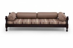 Aditya Furniture Modern Designer Wooden Sofa, Living Room