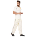 Cricket Uniform Off White