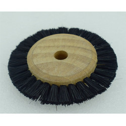 Wood Hub Wheel Brush