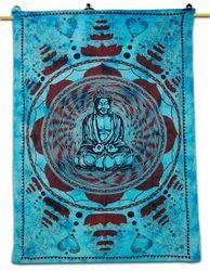 Printed Buddha Tapestry