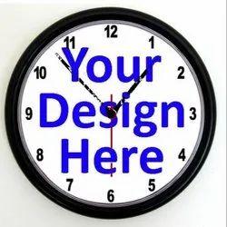 Minimum 2 Years Wall Clock Advertisement