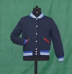 Navy Fleece Varsity