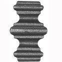 Ornamental Wrought Iron Collars