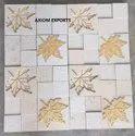 White mint CNC designer Tile