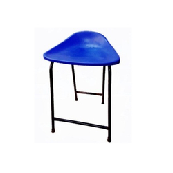 Icrystal Group Blue Plastic Shell Stool