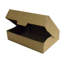 Corrugated Paper Rectangle, Square E-Flute Boxes, For Packaging, Box Capacity: 6-10 Kg
