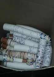 White Foodgrade Disposable Paper Cups, Use: Water