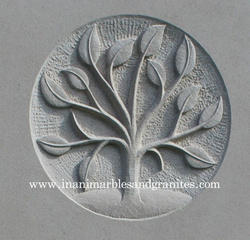 Grey Stone Carving