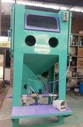 Semiautomatic Cabinet Type Pressure Abrasive Blasting Machine