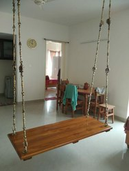 Wooden swing set. Call.97910.89663