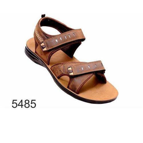 a36b4e072 Leather Lift Mens Brown Sandal