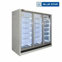 Blue Star 460 W Koral Open Freezer Remote With Glass Door KORAL15FGDSR