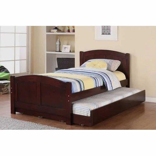Brown Wood Children Wooden Bed, Rs 22000 /piece, National Interior ...