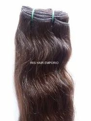 Natural Brown Indian Human Hair