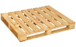 Four Way Wood Pallet