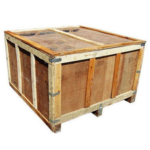 Rectangle Industrial Wooden Storage Box