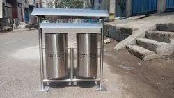 Double Bucket Nagar Nigam Dustbin