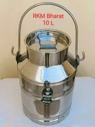 10L Stainless Steel Milk Can