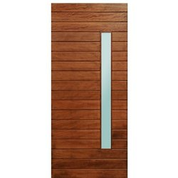 Rachna Brown Modern Plywood Laminated Flush Door, For Home