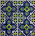Handprinted Ceramic Tiles