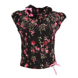 Large And XL Girls Printed Top