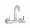 Brass Schwapp Wall Mounted Sink Mixer