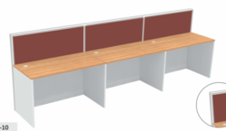 Linear Modular Partition Workstations