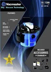 1200 W Vacmaster Vaccum Cleaner