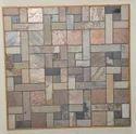 Jagson India Natural Stone Slate Polish Mosaic, Thickness: 10 - 12 Mm, Size (millimetre): 300x300 Mm