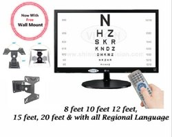 Refractometer Digital Vision Chart, Cornea Testing