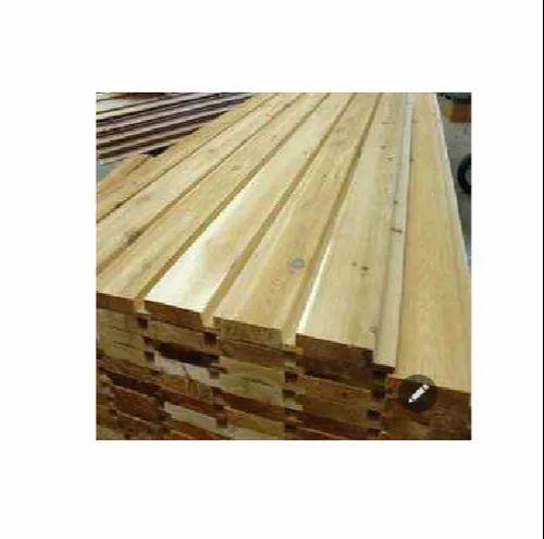 Square Teak Wood Mango Wooden Batten Thickness Standard