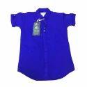 Kids Half Sleeve Plain Shirt
