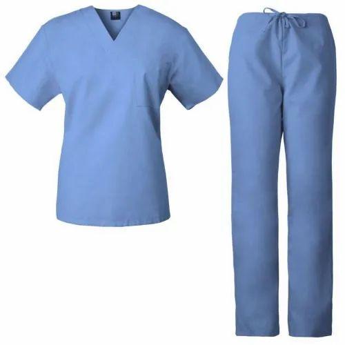 Hospital Half Sleeve Uniform, Packaging Type: Packet