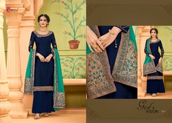 georgette Naaz heavy embroidered party wear suits