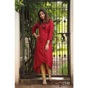 Embrodery Fabric Woman Designer Kurti