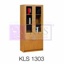 Wooden Brown KLS-1303 Office Storage Almirah