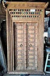 Vintage Carved Antique Front Door